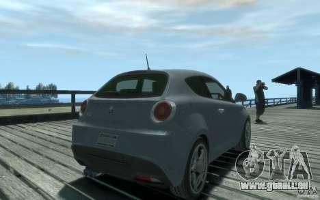 Alfa Romeo Mito pour GTA 4 est une gauche