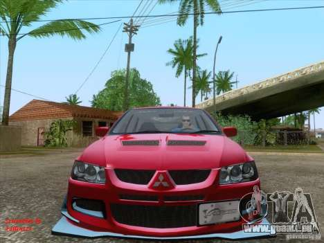 Mitsubishi Lancer Evolution VIII Varis für GTA San Andreas