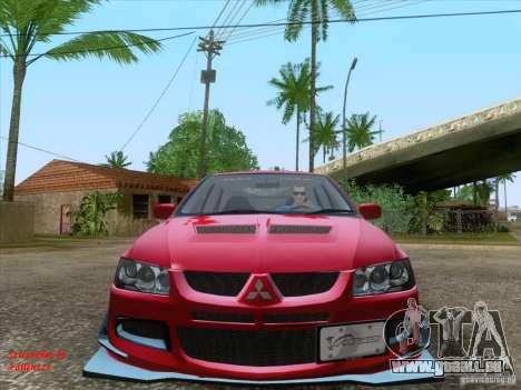 Mitsubishi Lancer Evolution VIII Varis für GTA San Andreas