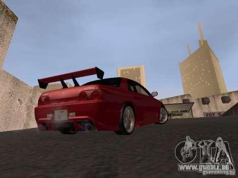 Nissan Skyline R32 Tuned für GTA San Andreas Rückansicht