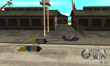 Star Wars Racer pour GTA San Andreas laissé vue