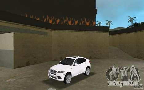 BMW X6M 2010 pour GTA Vice City