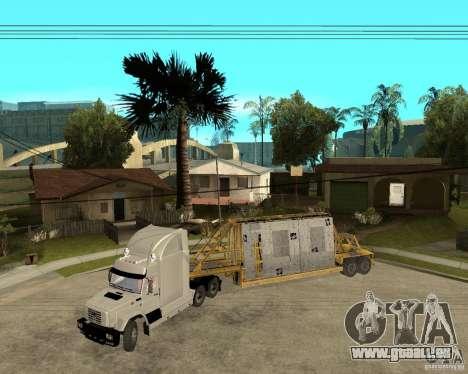 Patch remorque v_1 pour GTA San Andreas laissé vue