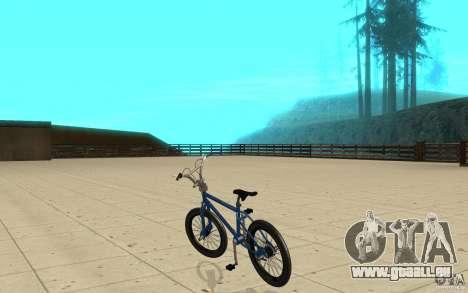 X-game BMX für GTA San Andreas zurück linke Ansicht