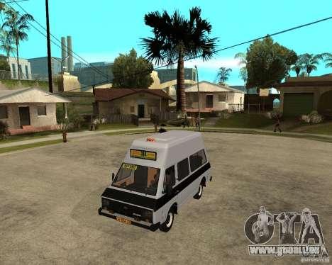 RAPH 22038 taxi pour GTA San Andreas
