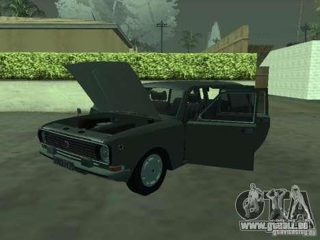 GAZ 24-12 für GTA San Andreas zurück linke Ansicht