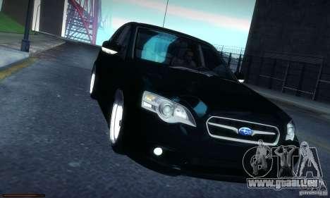 Subaru Legacy BIT edition 2004 pour GTA San Andreas vue intérieure