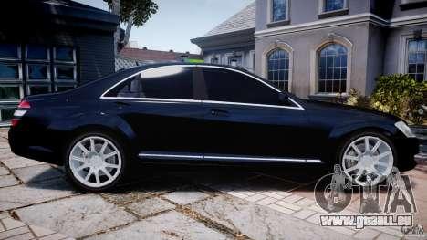 Mercedes-Benz S600 w221 pour GTA 4 est une gauche