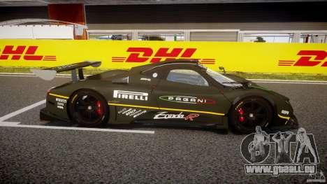 Pagani Zonda R 2009 pour GTA 4 est une vue de l'intérieur