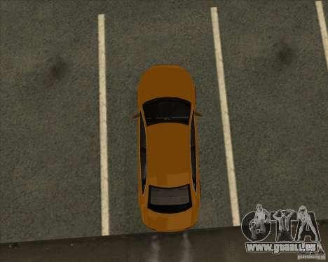 AUDI S4 Sport pour GTA San Andreas vue de dessous