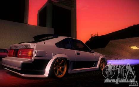 Toyota Supra Drift pour GTA San Andreas salon