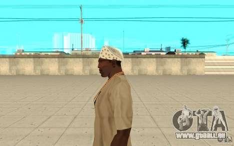Bandana blanc pour GTA San Andreas deuxième écran