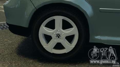 Volkswagen Golf Sportline 2011 für GTA 4 Unteransicht