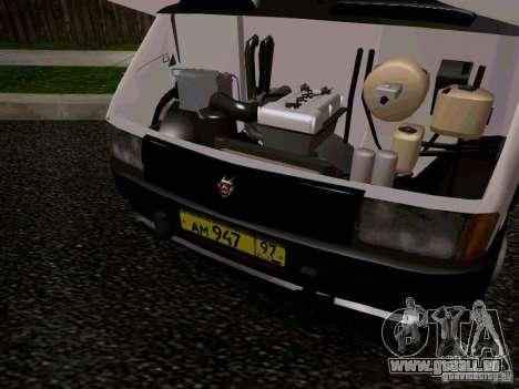 Gazelle 32213 1994 für GTA San Andreas Innen