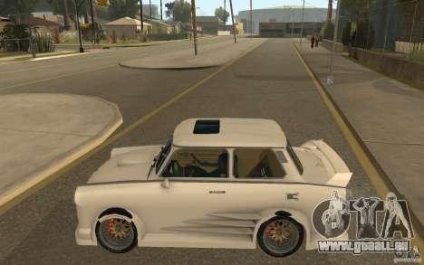 Trabant 601S Tuning pour GTA San Andreas laissé vue