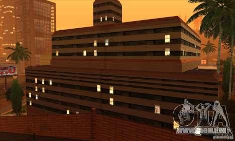 Das neue Krankenhaus in HP für GTA San Andreas dritten Screenshot