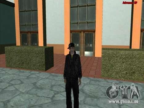 GuF pour GTA San Andreas deuxième écran