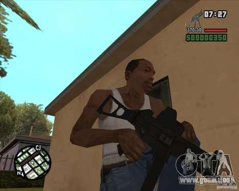 Ump 45 v 2.0 pour GTA San Andreas troisième écran