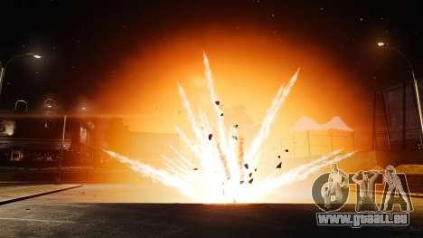 Grandes et réalistes des explosions pour GTA 4 troisième écran