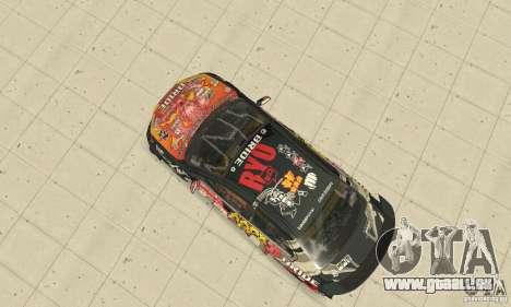 Mitsubishi Lancer EVO Ryo für GTA San Andreas Rückansicht