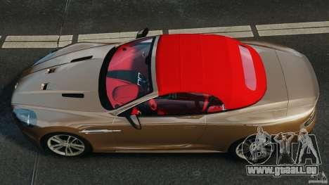Aston Martin DBS Volante [Final] für GTA 4 rechte Ansicht