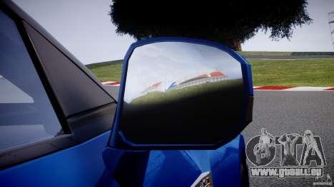 Nissan GT-R R35 2010 v1.3 pour GTA 4 roues