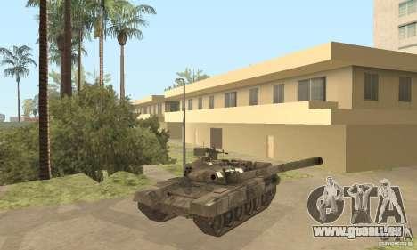 T-90 A pour GTA San Andreas vue de côté