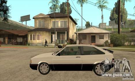 VW Gol GTS 1989 pour GTA San Andreas laissé vue