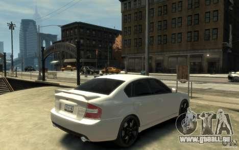 Subaru Legacy B4 specB 3.0 R pour GTA 4 est un droit
