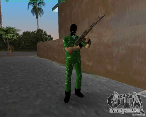 AK-74 für GTA Vice City zweiten Screenshot
