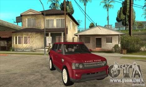 Land Rover Range Rover Sport HSE für GTA San Andreas Rückansicht