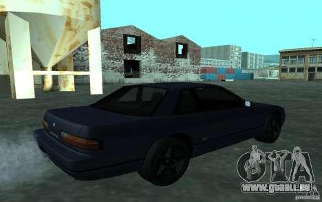 Nissan Onevia (Silvia) S13 pour GTA San Andreas sur la vue arrière gauche