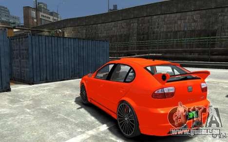 Seat Leon Cupra R für GTA 4 hinten links Ansicht