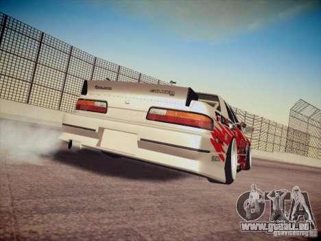 Nissan Silvia S13 Daijiro Yoshihara pour GTA San Andreas vue de droite