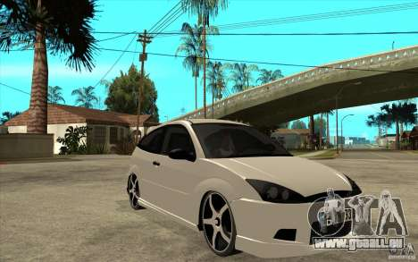 Ford Focus Coupe Tuning pour GTA San Andreas vue arrière