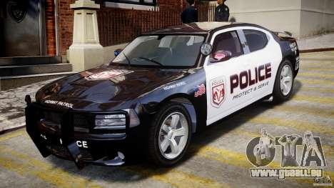 Dodge Charger NYPD Police v1.3 für GTA 4 linke Ansicht