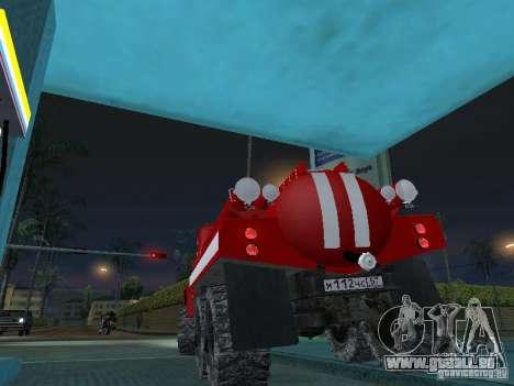 ZIL 131 AC-20 pour GTA San Andreas laissé vue