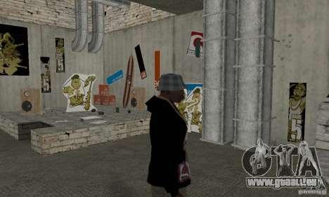 1 Chandail à capuchon pour GTA San Andreas deuxième écran