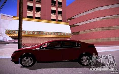 Chevrolet Volt pour GTA San Andreas vue intérieure