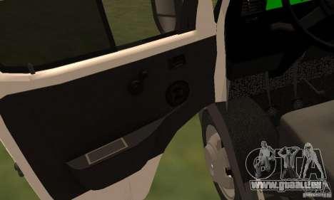 Gazelle 32213 Nowosibirsk Minibus für GTA San Andreas Seitenansicht