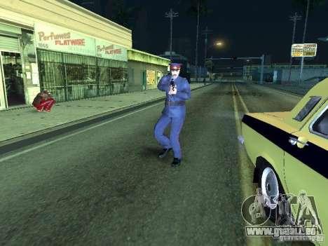 Police de l'URSS pour GTA San Andreas quatrième écran