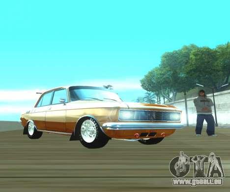 Moskvich 2140 Dragster pour GTA San Andreas vue de droite