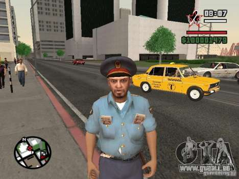 Flics pour GTA San Andreas troisième écran