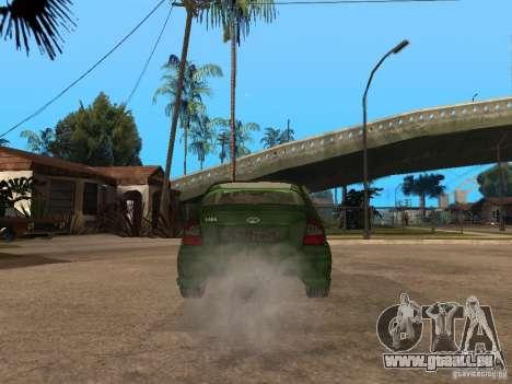 Lada Kalina Sport Tuning für GTA San Andreas zurück linke Ansicht