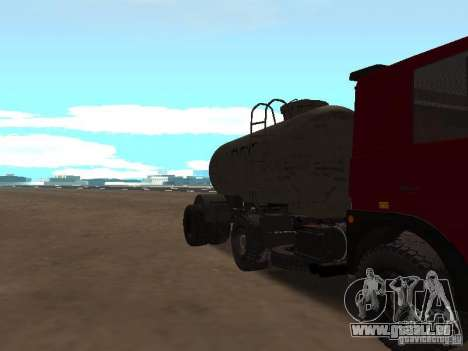TTC 26 pour GTA San Andreas vue intérieure