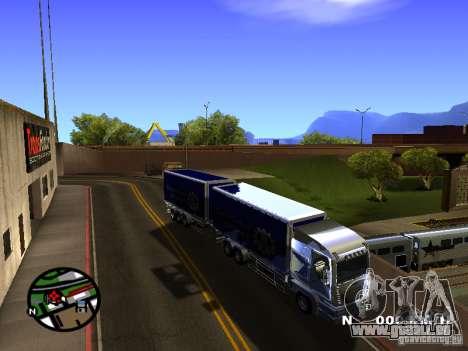 Iveco Stralis für GTA San Andreas linke Ansicht