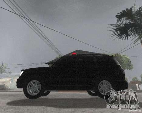 Toyota Land Cruiser 100 VX pour GTA San Andreas laissé vue
