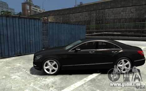 Mercedes-Benz CLS 350 pour GTA 4 est une gauche