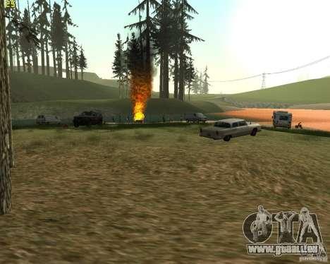 Partei auf die Natur für GTA San Andreas dritten Screenshot