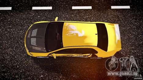Mitsubishi Lancer Evolution pour GTA 4 vue de dessus